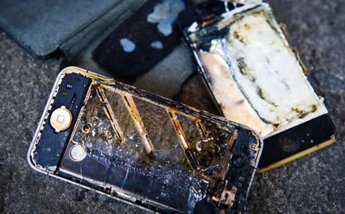 Điện thoại phát nổ